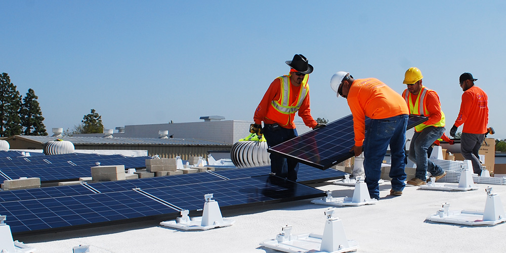 Commercial Solar Installation in San Diego