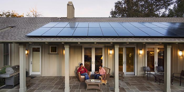 SunPower Residential Solar Panel Installation