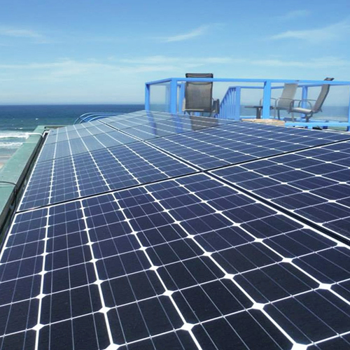 Large Solar Energy System Array