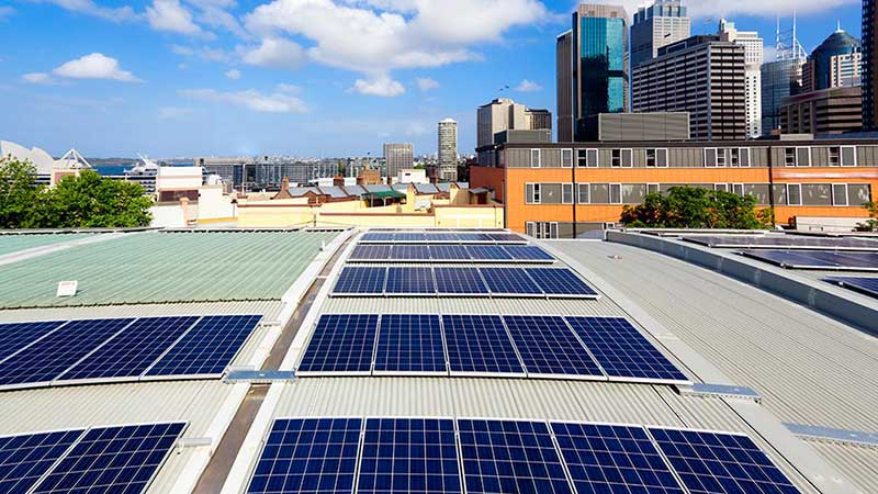 Commercial Solar Energy System Installation