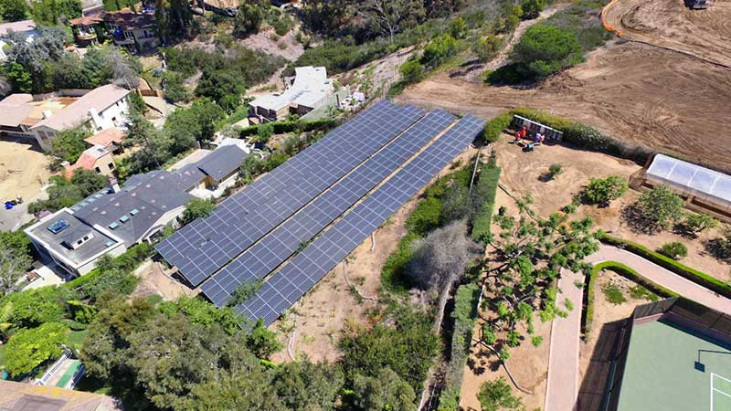 Largest Residential Solar Panel System in San Diego