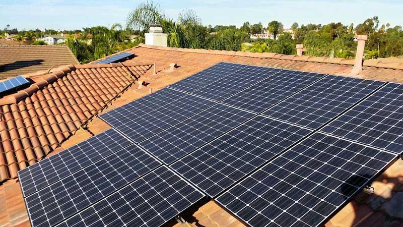 Residential Solar Panel System Installation