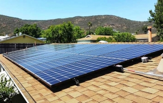 Rooftop Solar Panel System Installation