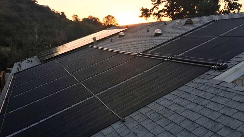 Solar Pool Heating and Solar Panel Installation